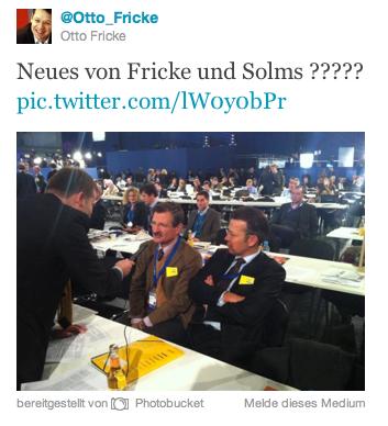 Neues von Fricke & Solms?